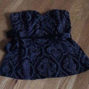 White House Black Market corset top, size 2
